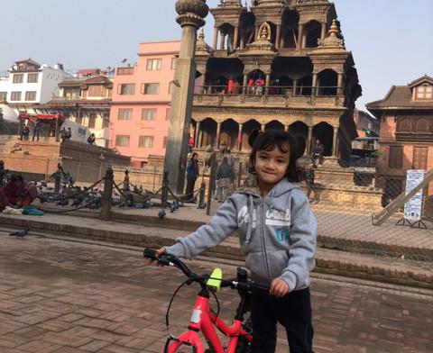 Sudarshan's daughter 1 rotated